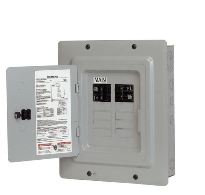 20 and 30 amp breakers and ac panel