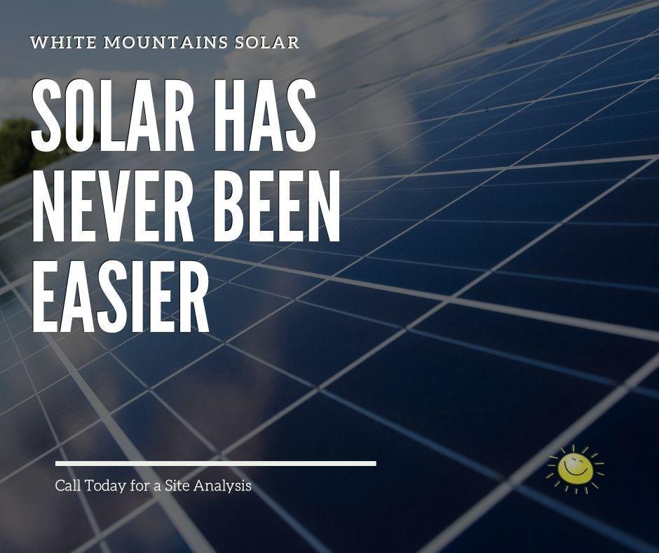 Going Solar has never been easier
