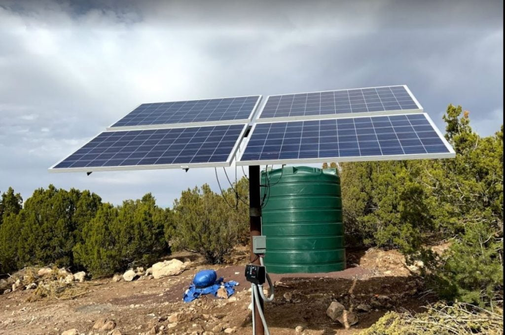 off the gird solar solutions WMS wmsolaraz.com White Mountains Solar Show Low AZ 928 251 0114